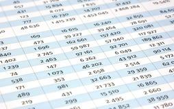 Balancieren der Rechnungen Stockfoto