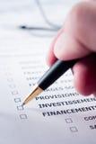 Balancieren der Rechnungen Lizenzfreies Stockfoto