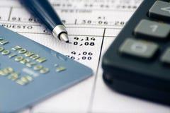 Balancieren der Rechnungen Lizenzfreies Stockbild