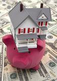 Balancierende Finanzen Lizenzfreies Stockbild