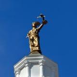 Balancierende Gerechtigkeit Lizenzfreie Stockbilder