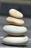 Balancierende Steine Stockfoto