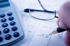 Balancing the Accounts Stock Images