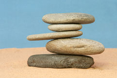 Balancing Act. Royalty Free Stock Images