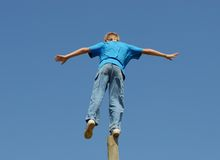 Balancing Act ! Stock Photography