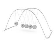 Balancing balls Newton's cradle Stock Image