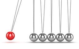 Balancing Balls Newtons Cradle Royalty Free Stock Photos