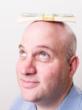 Balancing the Budget concept Royalty Free Stock Image