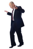 Balancing Businessman Royalty Free Stock Image
