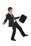 Balancing Businessman Royalty Free Stock Photo