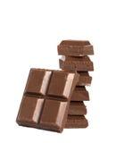 Balancing chocolate Royalty Free Stock Images