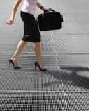 Balancing on high heels Stock Photos