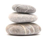 Balancing pebble tower Stock Image