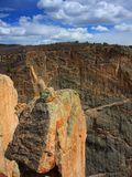 Balancing Rock in Black Canyon Royalty Free Stock Photography