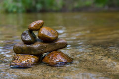 Balancing rocks Stock Image