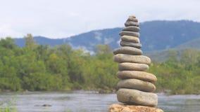 Balancing rocks Royalty Free Stock Images