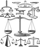 Balancing Scale Collection Royalty Free Stock Photo