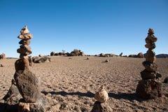 Balancing Stone Pile Royalty Free Stock Images