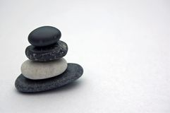 Balancing stones. Stock Photography