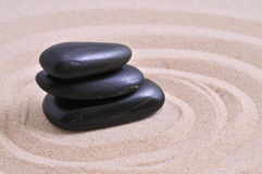 Balancing stones Stock Images