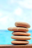 Balancing stones Stock Images