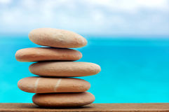 Balancing stones Royalty Free Stock Photos