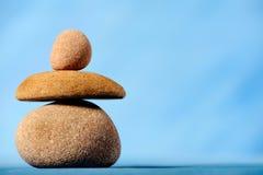 Balancing stones. Horizontal image of balancing stones Stock Image