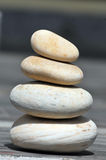 Balancing stones. Looking great in sunny day Stock Photo
