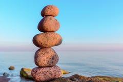 Balancing of stones Stock Photography