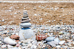 Balancing stones Royalty Free Stock Photo