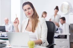 Balancing work and pregnancy stock photos