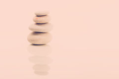 Balancing zen stones  Royalty Free Stock Photography