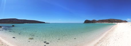 Balandra Beach. Baja California Sur, Mexico. stock image