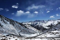 Провинция Balang Китая Сычуань Стоковая Фотография RF