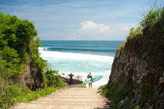 Balangan Beach, Bali Royalty Free Stock Images