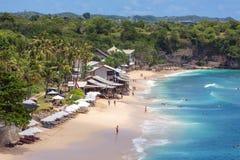 Balangan Beach in Bali Stock Photo