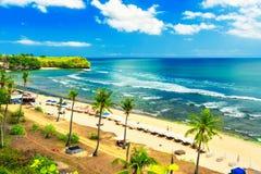 Nature landscape: Balangan beach Bali Indonesia stock image
