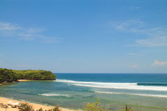Balangan beach, Bali island, Indonesia Stock Photos