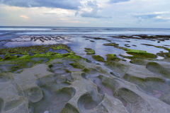 Balangan beach is one of the most beautiful in Bal. Stock Photos