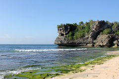Balangan strand, Bali Arkivfoto