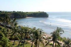 Balangan strand, Bali Royaltyfri Foto