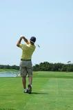Balanço do golfe Imagem de Stock