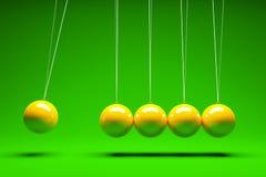 balansera bollar stock illustrationer