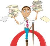 balansera för kundutbildning Vektor Illustrationer