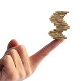 balansera finanser Fotografering för Bildbyråer