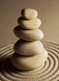 balansera stenar Royaltyfria Bilder