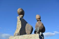 balansera stenar Royaltyfri Foto