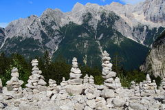 balansera stenar Royaltyfri Bild