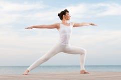 balansowa sprawność fizyczna Fotografia Stock