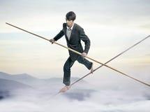 balansowanie na linie zdjęcia royalty free